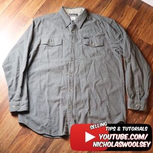 Columbia Sportswear Flannel Button Front Shirt XL